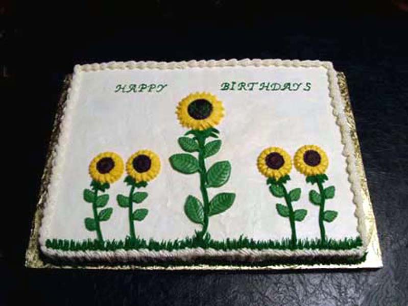 100 Sunflower Birthday Cake 246 Best Cakes Art U0026